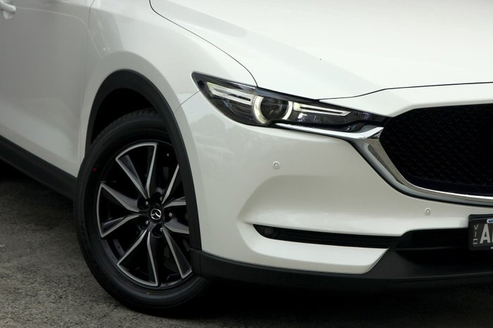 2017 Mazda CX-5 Akera KE Series 2 4X4 On Demand White