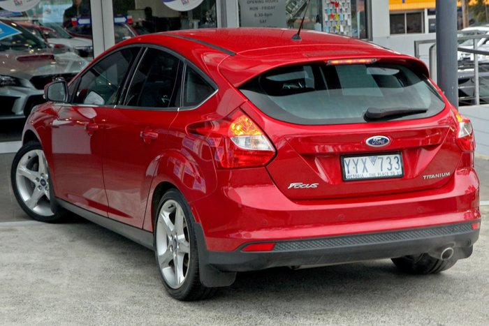 2012 Ford Focus Titanium LW Red