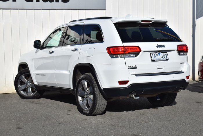 2013 Jeep Grand Cherokee Limited WK MY13 4X4 Constant White