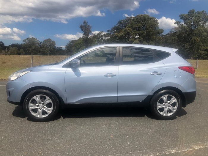 2010 Hyundai ix35 Active LM MY11 Blue