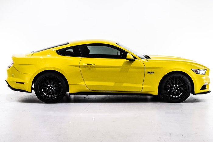 2016 Ford Mustang GT FM Yellow