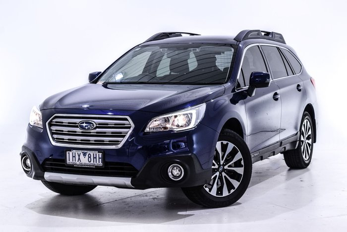 2016 Subaru Outback 2.5i 5GEN MY16 Four Wheel Drive Blue