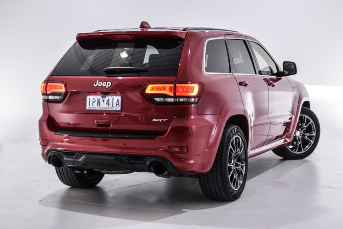 2015 Jeep Grand Cherokee SRT WK MY15 4X4 On Demand Red