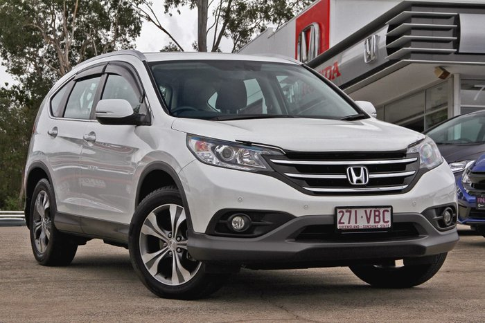 2014 Honda CR-V VTi Plus RM MY15 4X4 On Demand White