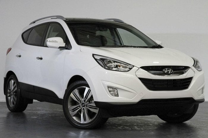 2015 Hyundai ix35 Highlander Series II MY15 4X4 On Demand White