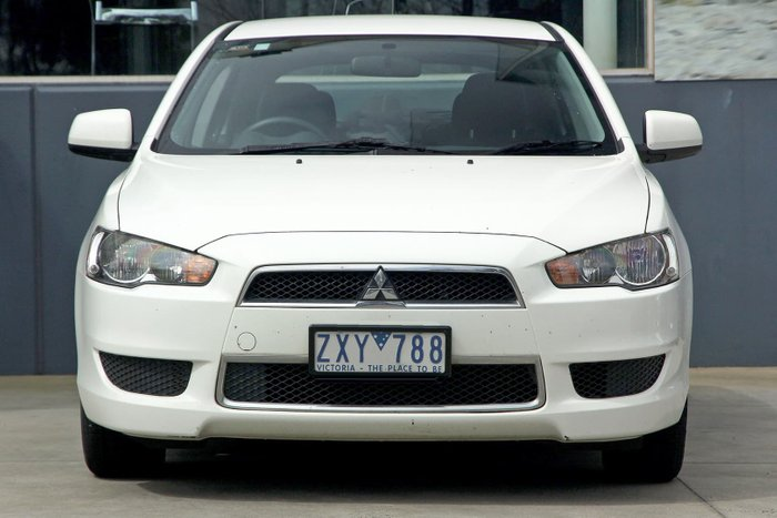 2013 Mitsubishi Lancer LX CJ MY13 White