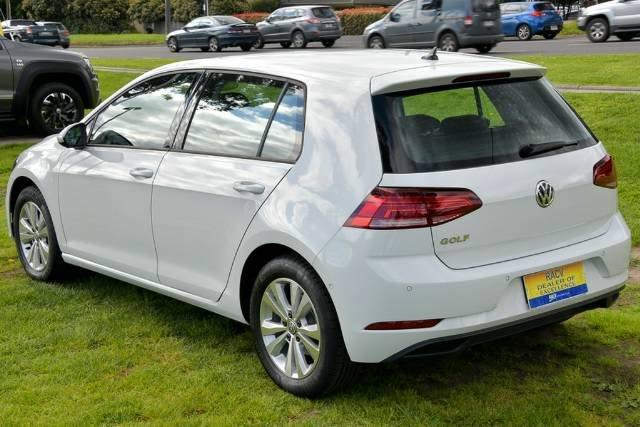 2018 Volkswagen Golf 110TSI Trendline 7.5 MY19 PURE WHITE