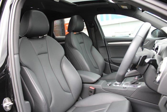 2018 Audi S3 Black Edition 8V MY18 Four Wheel Drive Black