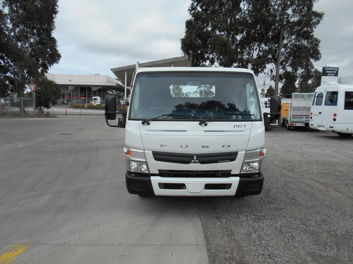 2011 Fuso Canter 815 Wide 4570 STEEL DROPSIDE TRAY WHITE