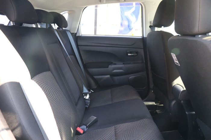 2014 Mitsubishi ASX LS XB MY15 Silver