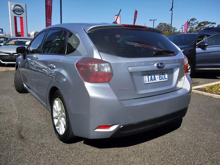 2013 Subaru Impreza 2.0i G4 MY13 Four Wheel Drive Silver