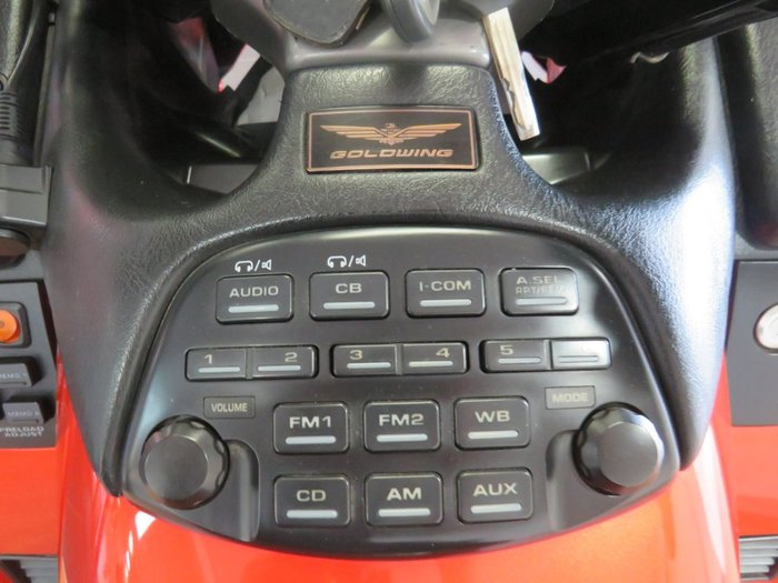 2003 Honda GL1800 (GL1800A) GOLDWING Orange