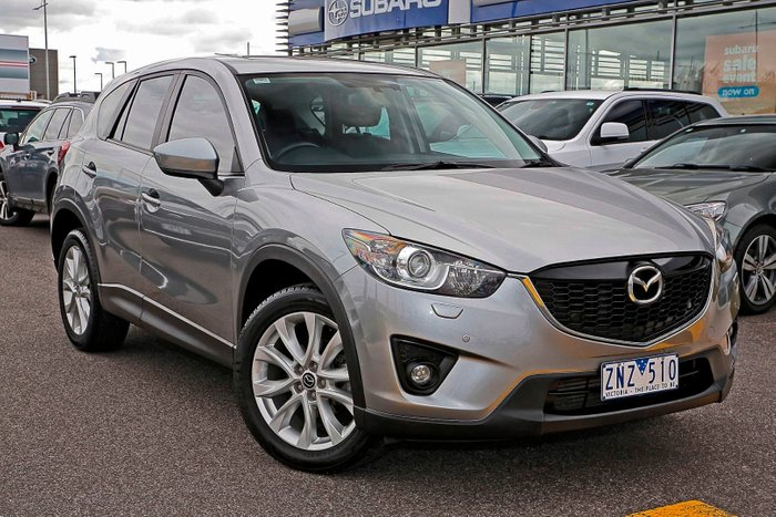 2012 Mazda CX-5 Grand Touring KE Series Four Wheel Drive Silver