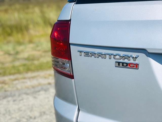 2013 Ford Territory Titanium SZ Silver