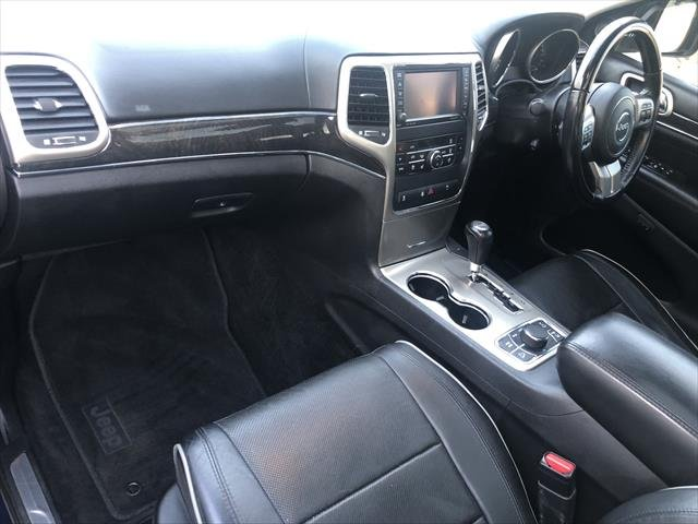 2012 Jeep Grand Cherokee Overland WK MY12 4X4 Constant BLUE