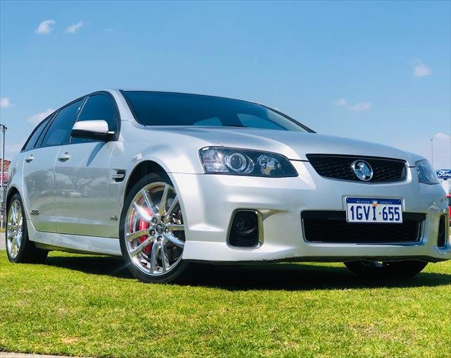 2012 Holden Commodore SS V Redline VE Series II MY12 SILVER