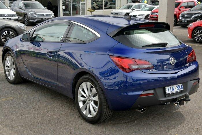 2015 Holden Astra GTC PJ MY15.5 BLUE