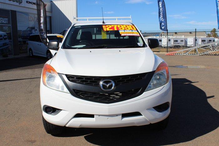 2012 Mazda BT-50 XT Hi-Rider UP White