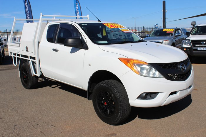 2012 Mazda BT-50 XT Hi-Rider UP White