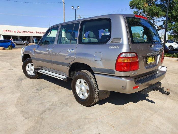 2002 Toyota Landcruiser GXL HDJ100R 4X4 Constant Silver