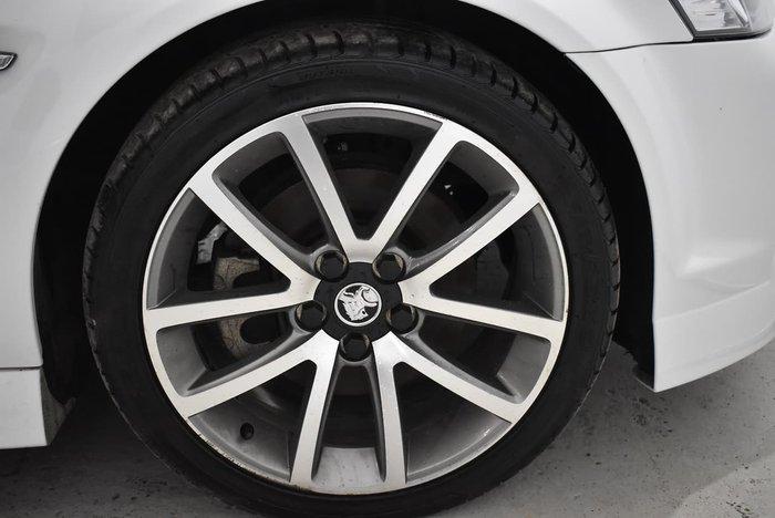 2012 Holden Ute SS V VE Series II MY12 White