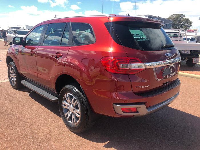 2018 Ford Everest Trend UA II MY19 4X4 Dual Range Red