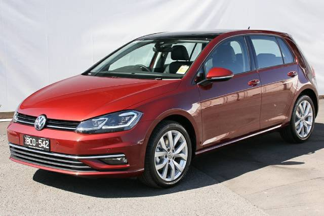 2019 VOLKSWAGEN GOLF 110TSI HIGHLINE 7.5 MY20 CRANBERRY RED