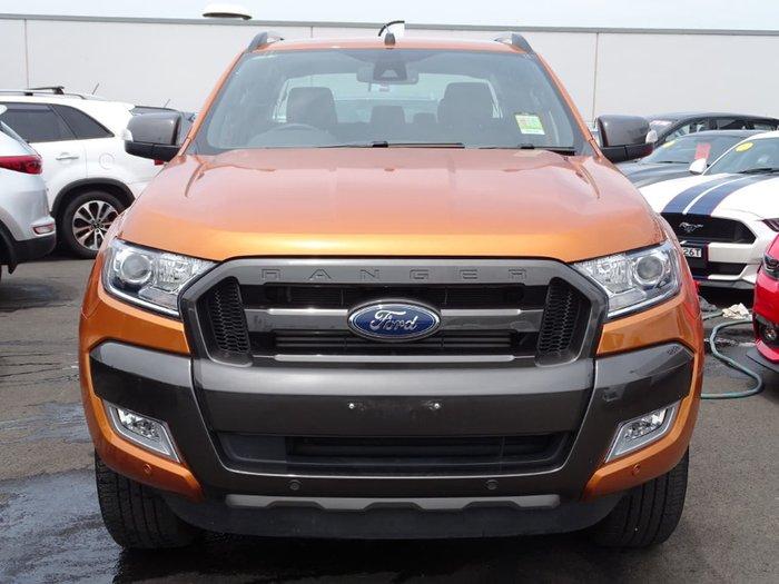 2018 Ford Ranger Wildtrak PX MkII MY18 4X4 Dual Range Orange