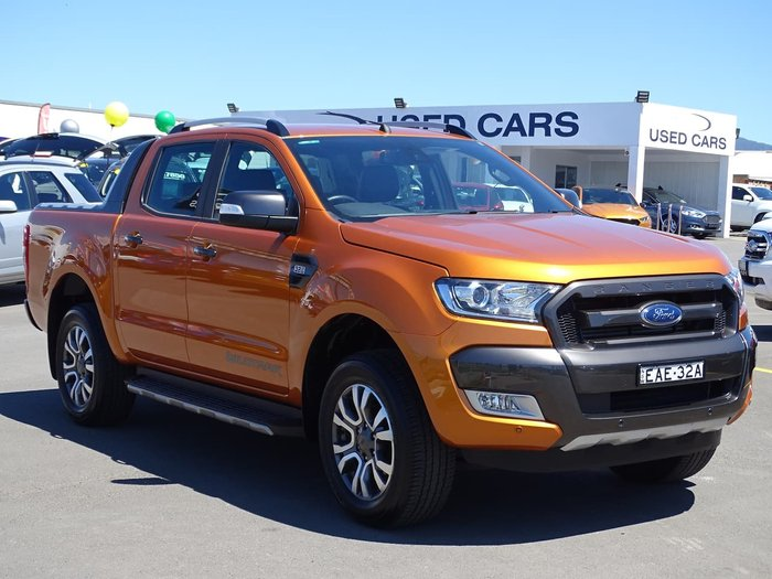 2018 Ford Ranger Wildtrak PX MkII MY18 4X4 Dual Range Orange