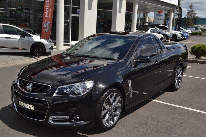 2014 Holden Ute SS V VF MY15 Black