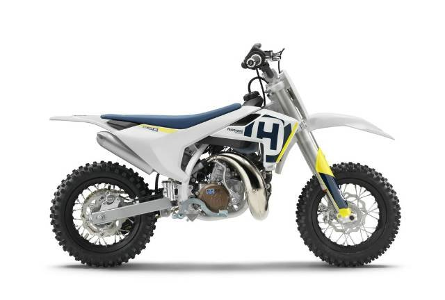 2019 HUSQVARNA TC 50 MINI BIKE WHITE
