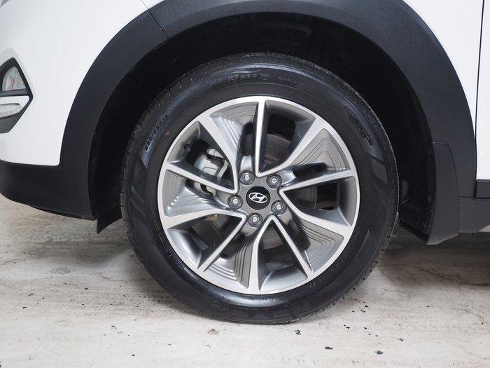 2017 Hyundai Tucson Active X TL MY17 White