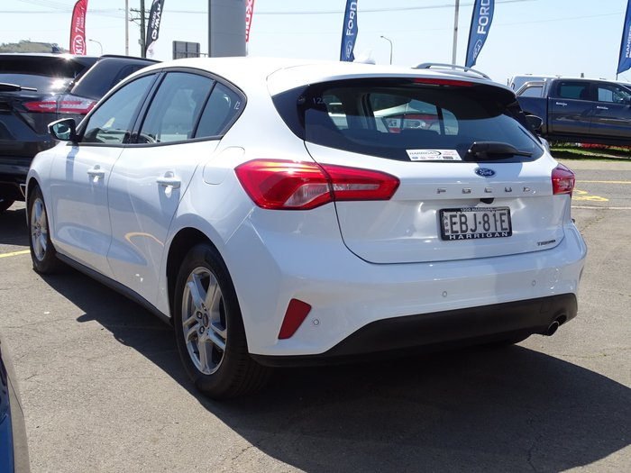 2019 Ford Focus Trend SA MY19.25 White