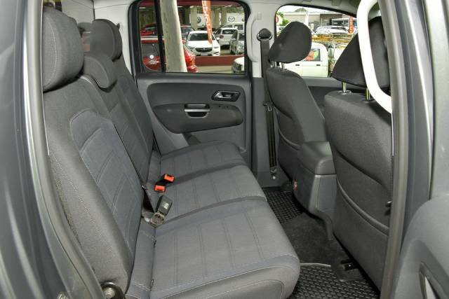 2018 Volkswagen Amarok TDI550 Sportline 2H MY18 4X4 Constant INDIUM GREY METALLIC