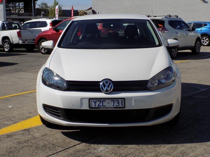 2012 Volkswagen Golf 90TSI Trendline VI MY12.5 White