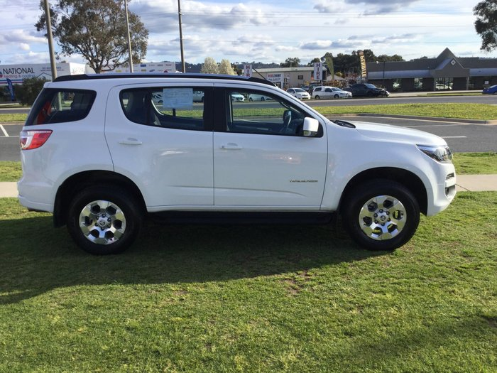2019 Holden Trailblazer LT RG MY19 4X4 Dual Range White