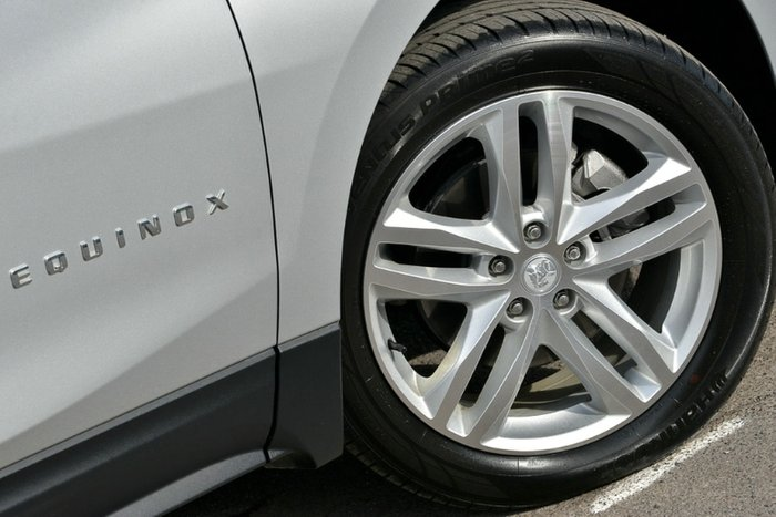 2018 Holden Equinox LTZ-V EQ MY18 Four Wheel Drive SILVER