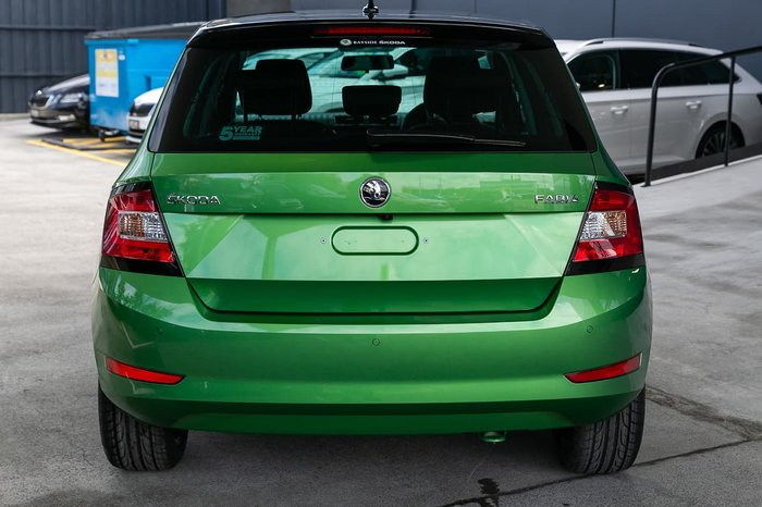 2019 SKODA Fabia 81TSI NJ MY19 Green