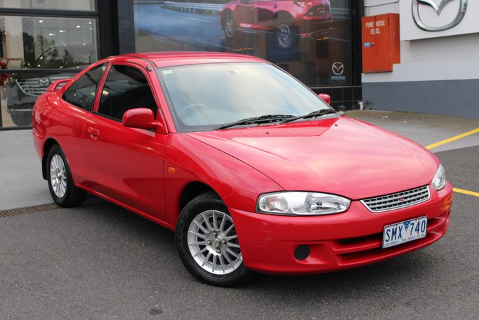 2003 Mitsubishi Lancer GLi CE2 MY02.5 Red