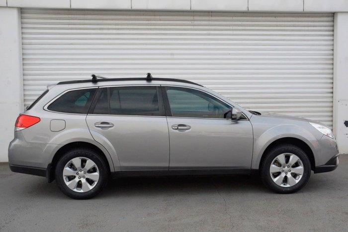 2010 Subaru Outback 3.6R Premium 4GEN MY10 Four Wheel Drive Silver