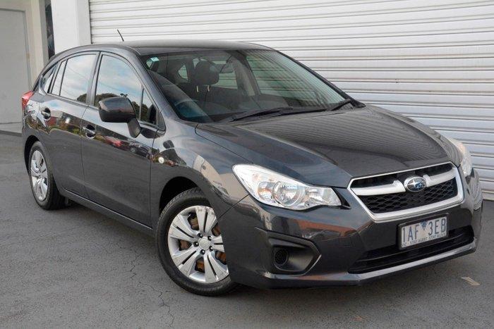 2013 Subaru Impreza 2.0i G4 MY13 Four Wheel Drive Grey