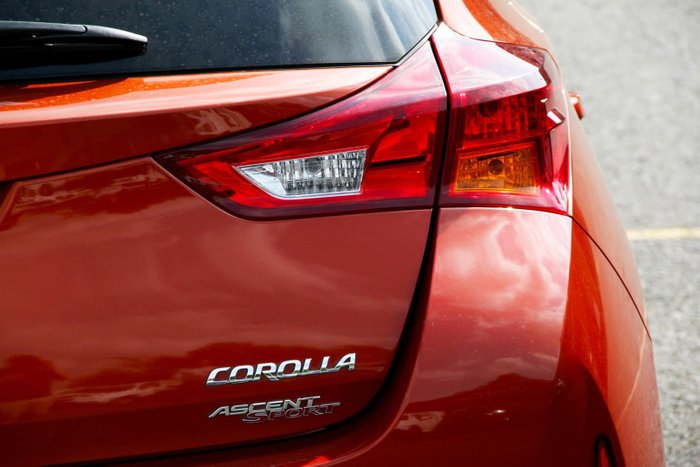 2014 Toyota Corolla Ascent Sport ZRE182R Orange