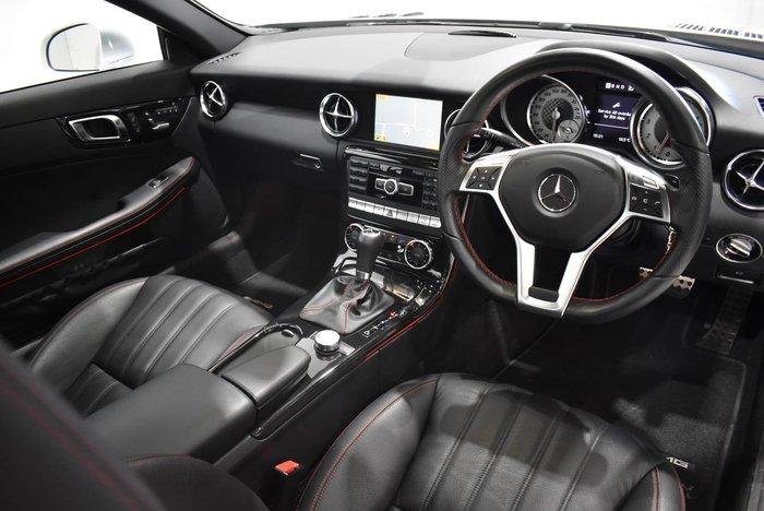 2012 Mercedes-Benz SLK-Class SLK350 BlueEFFICIENCY R172 Silver