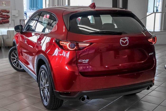 2019 Mazda CX-5 Akera KF Series 4X4 On Demand Red