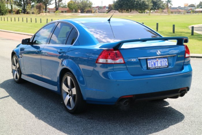 2013 Holden Commodore SV6 Z Series VE Series II MY12.5 Blue