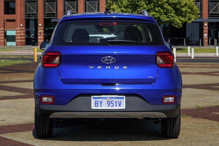 2019 Hyundai Venue Go QX MY19 Blue
