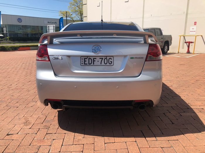 2010 Holden Commodore SV6 VE Series II Silver