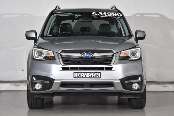 2016 Subaru Forester 2.5i-S S4 MY16 Four Wheel Drive Silver