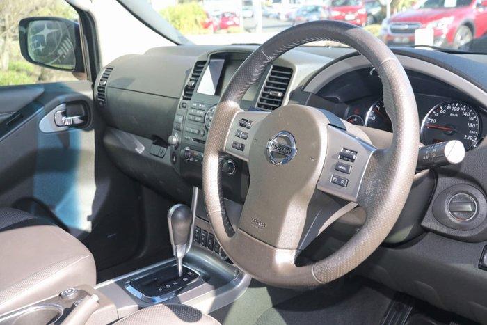2011 Nissan Pathfinder Ti 550 R51 MY10 4X4 Dual Range Silver