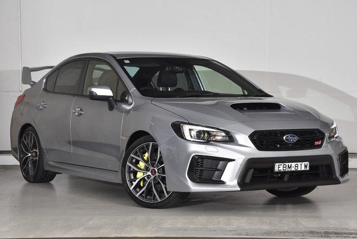 2019 Subaru WRX STI Premium V1 MY20 Four Wheel Drive Silver